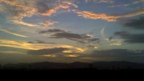 Beautiful Sunset Cloudscape Pictures
